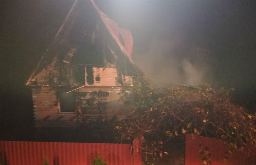 Пенсионер погиб при пожаре в Белыничском районе