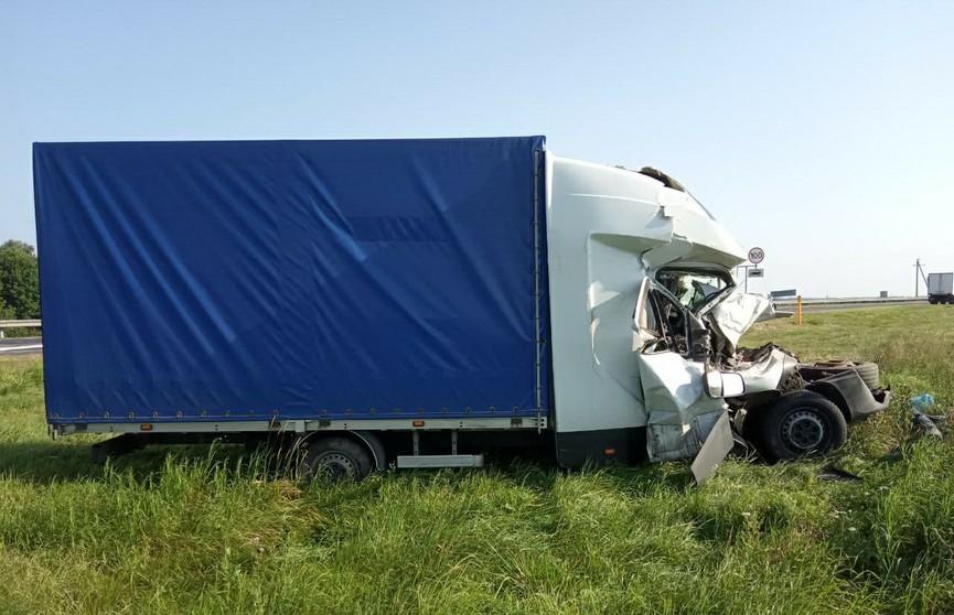 ДТП на трассе М1: водитель грузовика погиб
