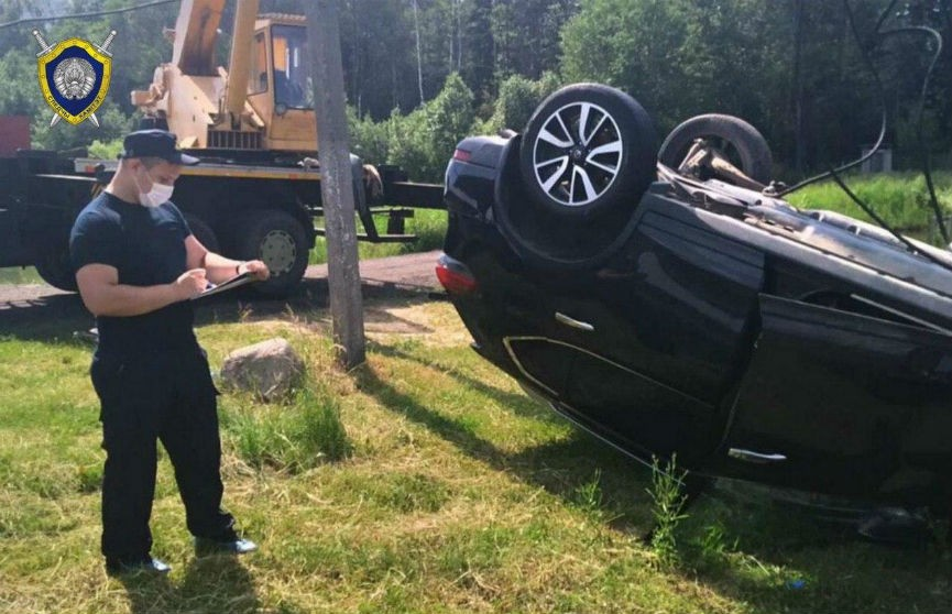 ДТП в Бобруйском районе: из водоема достали машину с телами четырех мужчин (ВИДЕО)