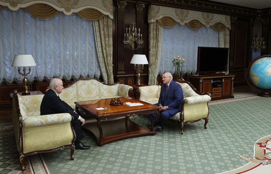 Лукашенко провёл встречу с Лебедевым накануне правительственного саммита СНГ в Минске