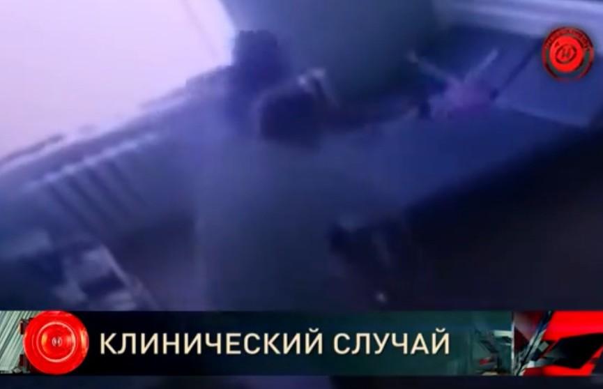 В Жлобине мужчина пришёл в сознание и устроил в больнице погром (ВИДЕО)