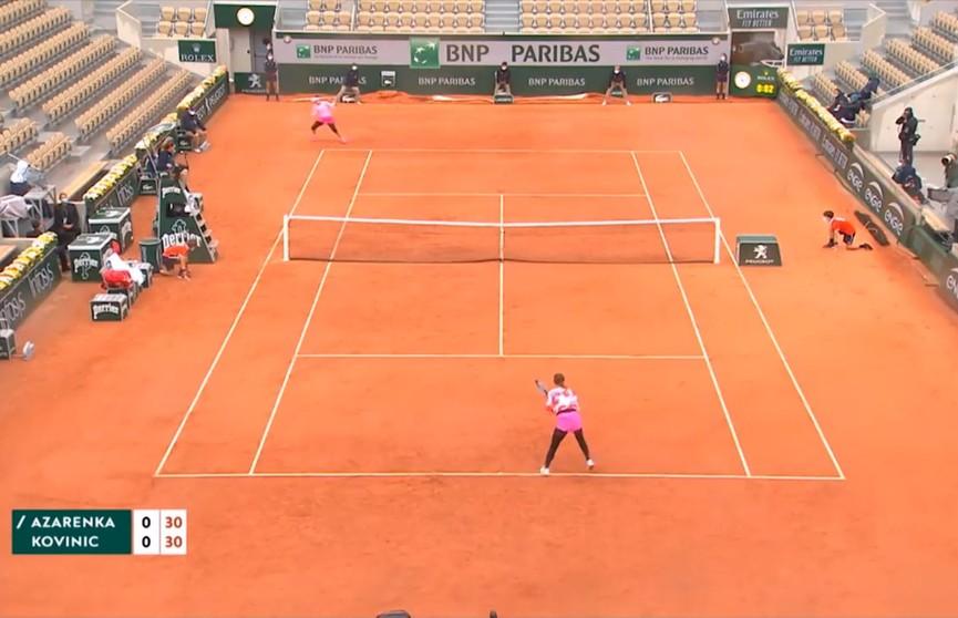 Белорусские теннисистки с побед начали престижный турнир «Ролан Гаррос»