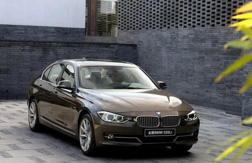 BMW отзывает почти 140 тысяч автомобилей из Китая