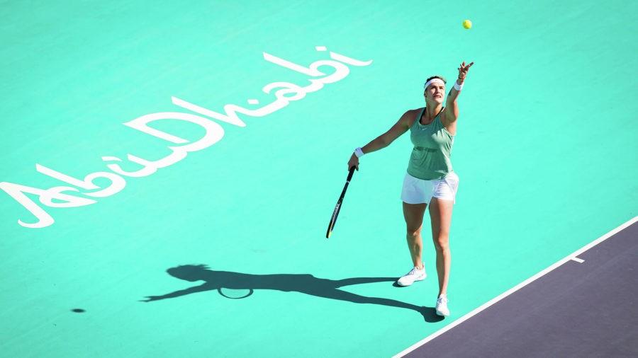 Арина Соболенко вышла в полуфинал турнира в Абу-Даби
