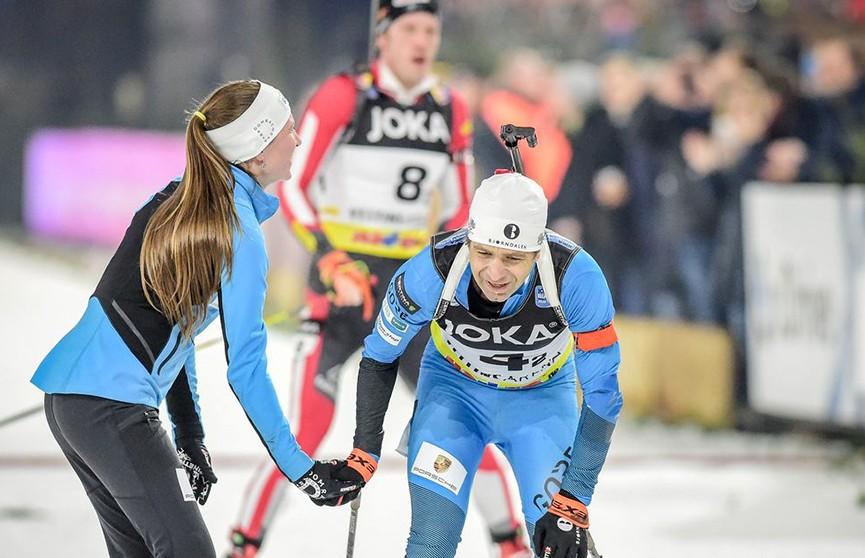 Дарья Домрачева и Уле-Эйнар Бьорндален заняли третье место в рождественской гонке в Германии