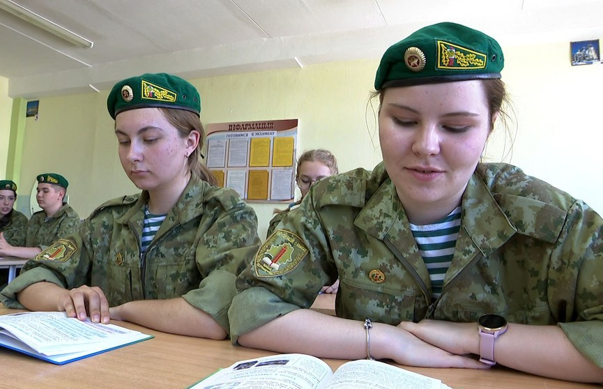 Чем отличается единственный в Минске класс военно-патриотический пограничной направленности?