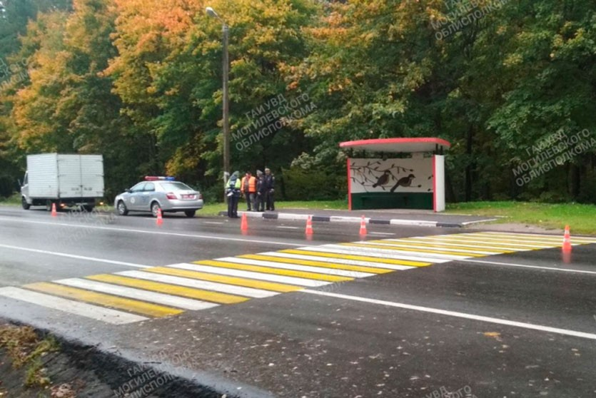 Грузовик сбил 7-летнего мальчика на переходе в Могилёве