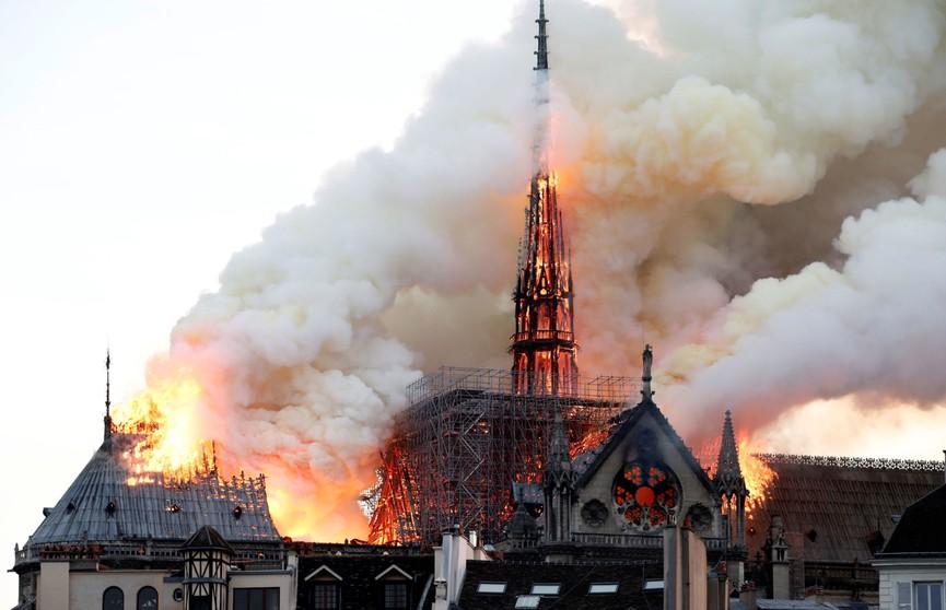 Нотр-Дам спасён от полного разрушения: восстановление собора займёт не менее 10 лет