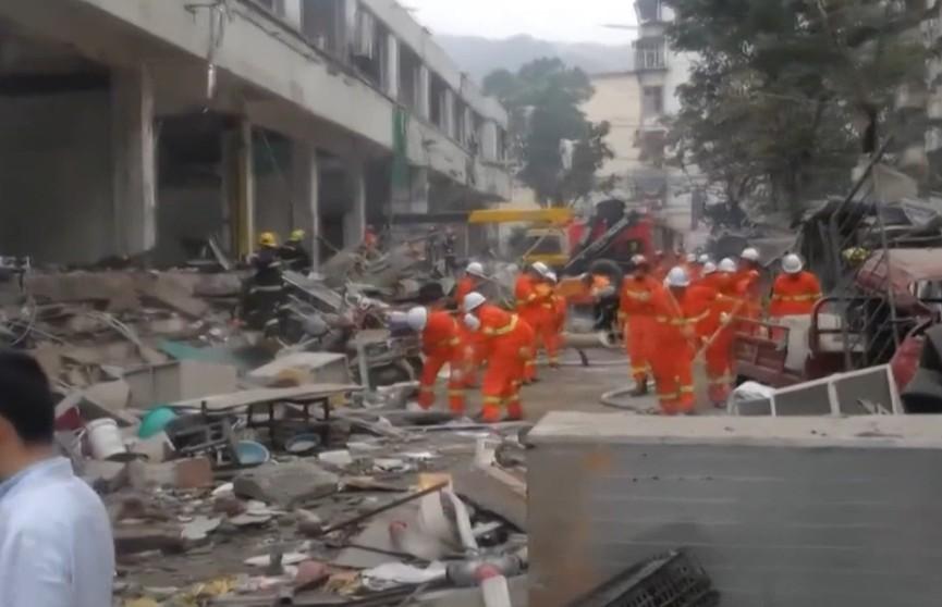 В Китае растет количество жертв в результате взрыва газа в провинции Хубэй