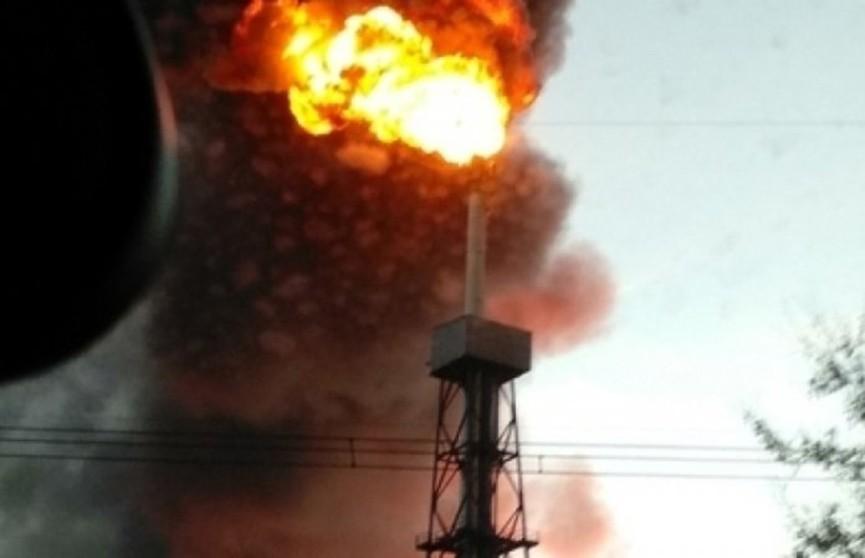 Крупный пожар на нефтеперерабатывающем заводе в Москве ликвидирован