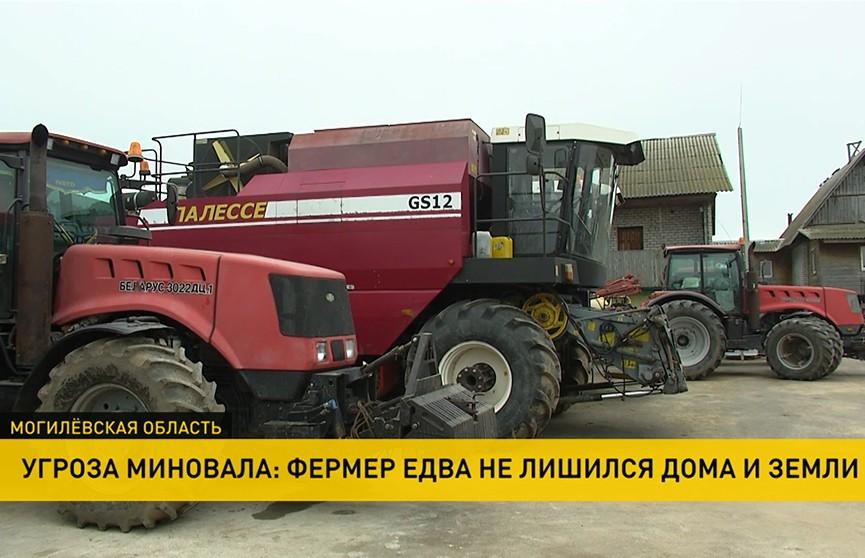 Фермер из Могилёвского района едва не лишился дома и земли. Мужчина обратился за помощью к Президенту