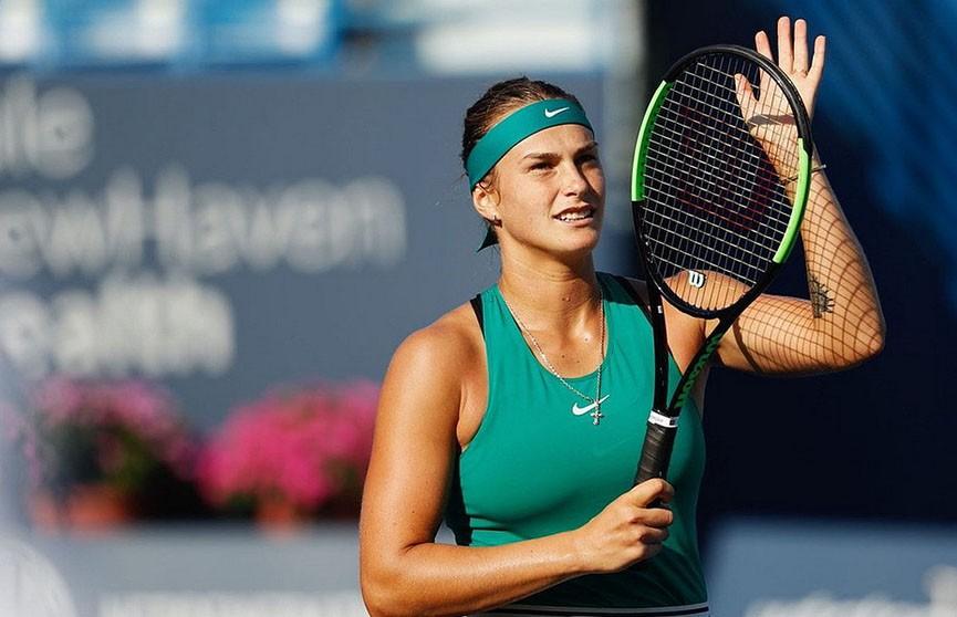 Арина Соболенко признана «Новичком года» по версии WTA