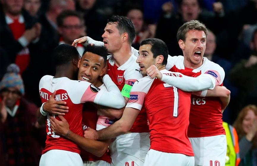 «Арсенал» обыграл «Валенсию» в футбольной Лиге Европы