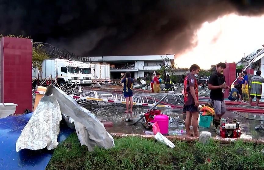 Взрыв произошел на химзаводе в Таиланде: более 20 человек пострадали