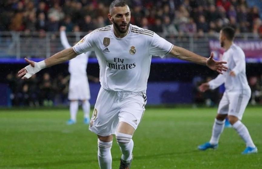 Французский нападающий «Реала» Карим Бензема признан лучшим игроком в футбольном чемпионате Испании