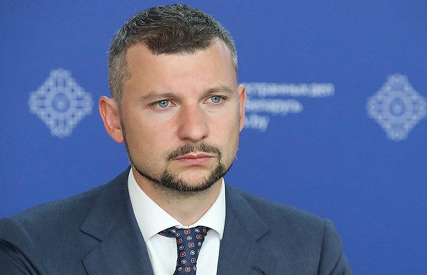 МИД Беларуси о ноте Литвы: нормальный диалог давно принесен в жертву геополитическим амбициям