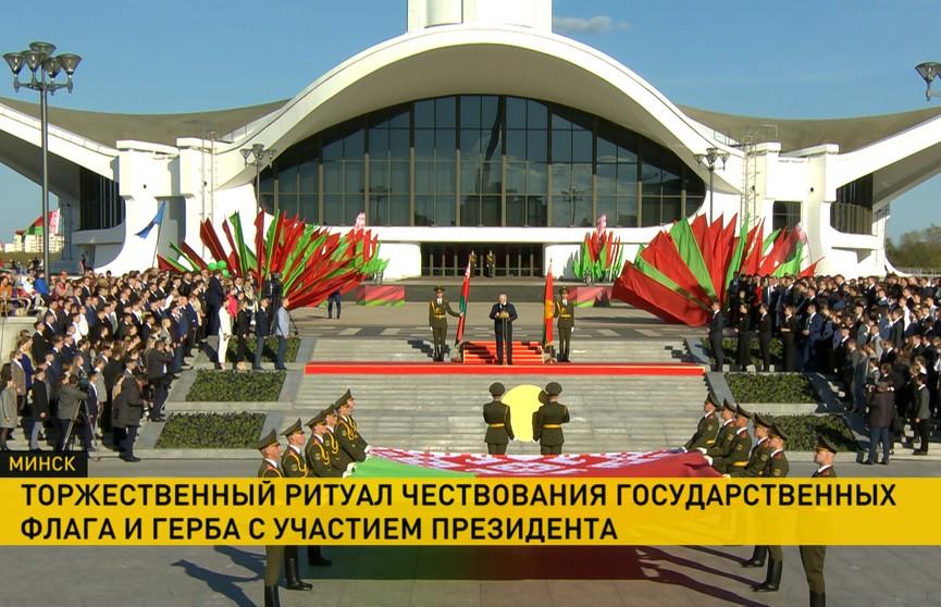 Лукашенко: Нас, белорусов, попытались столкнуть лоб в лоб. Давайте прекратим это противостояние