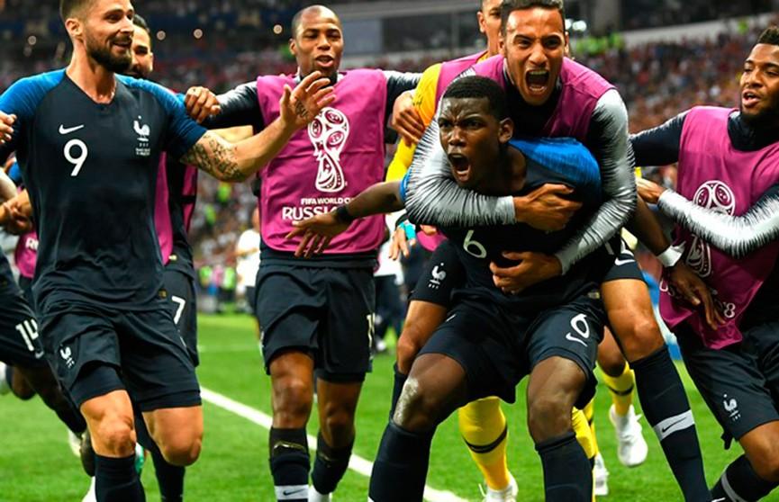 Сборная Франции стала победителем чемпионата мира по футболу!