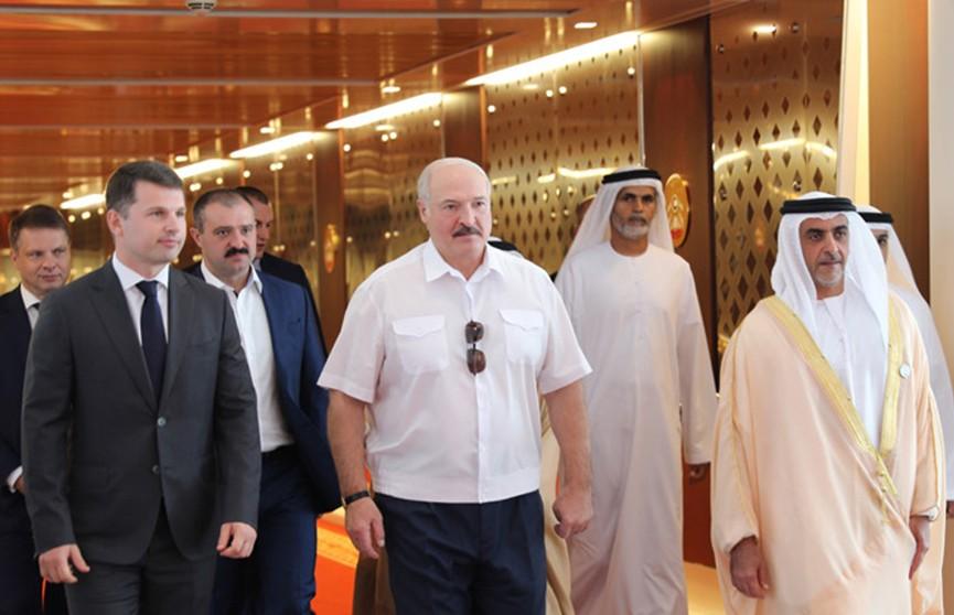 Начался визит Президента Беларуси в Объединенные Арабские Эмираты