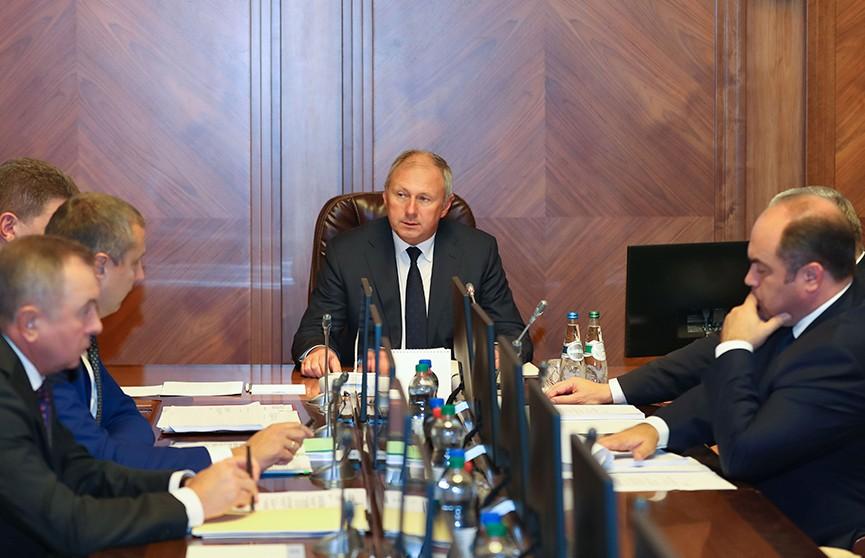 Румас провел заседание Президиума Совета Министров: госдолг станет меньше, а бюджетная система устойчивее