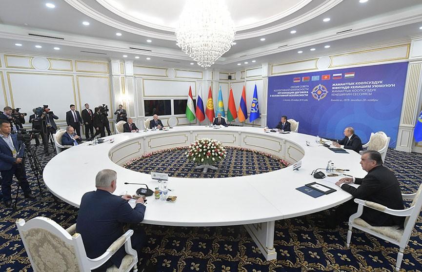 Саммит ОДКБ проходит в Кыргызстане: какие вопросы обсуждают лидеры стран?