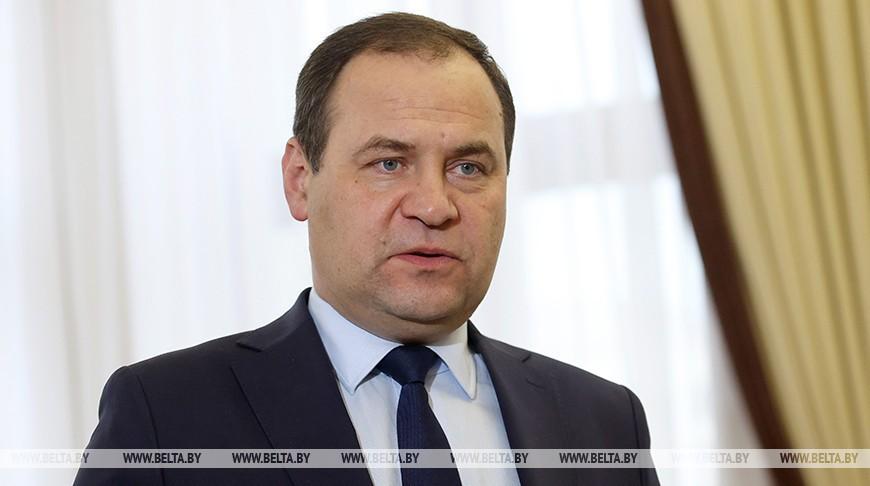 Головченко: Беларусь изучит наиболее приемлемые варианты реагирования на санкции ЕС