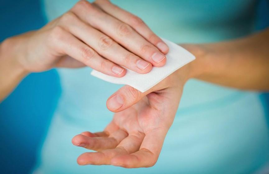 Как спасти кожу рук после использования антисептиков