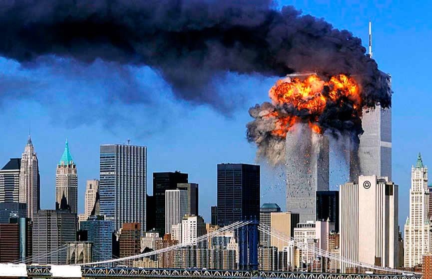 Мир вспоминает события 11 сентября 2001 года в США