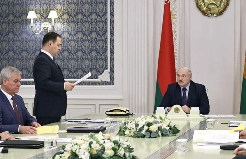Александр Лукашенко провел совещание по подготовке VI Всебелорусского народного собрания