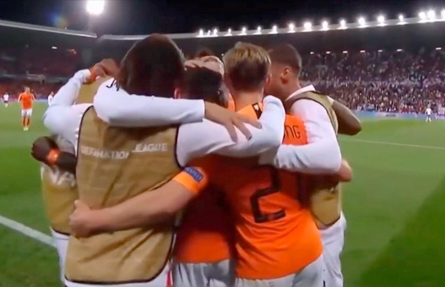 Cборная Нидерландов стала вторым финалистом футбольной Лиги наций УЕФА