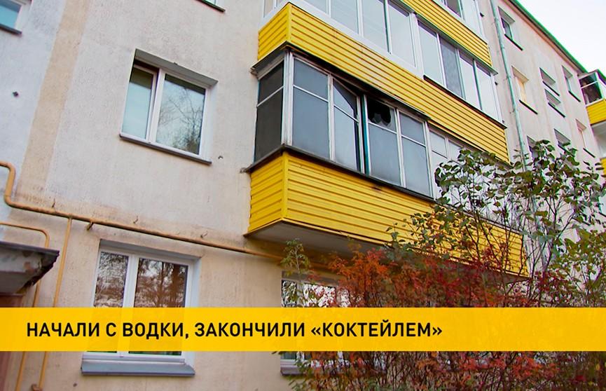 Пьяная компания забросала коктейлями Молотова квартиру в Минске. «Мстители» задержаны, возбуждено уголовное дело