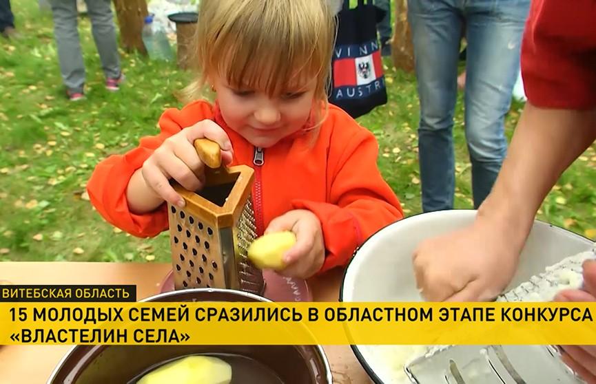 «Властелин села»: как прошли семейные соревнования под Полоцком