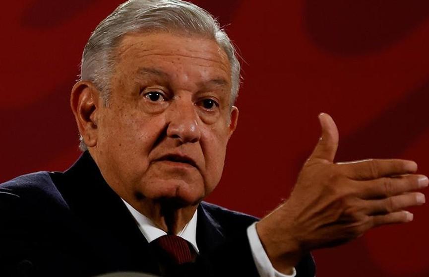 Президент Мексики заразился COVID-19