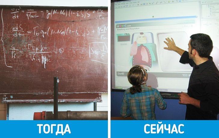5, 10 и 20 лет спустя: сравните, как изменилось обучение в школе за это время