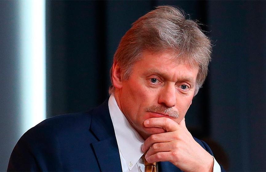 Песков: Россия поддерживает легитимного Президента Беларуси