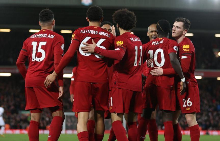 «Ливерпуль» выиграл 18-й матч подряд и находится в четырех победах от чемпионства