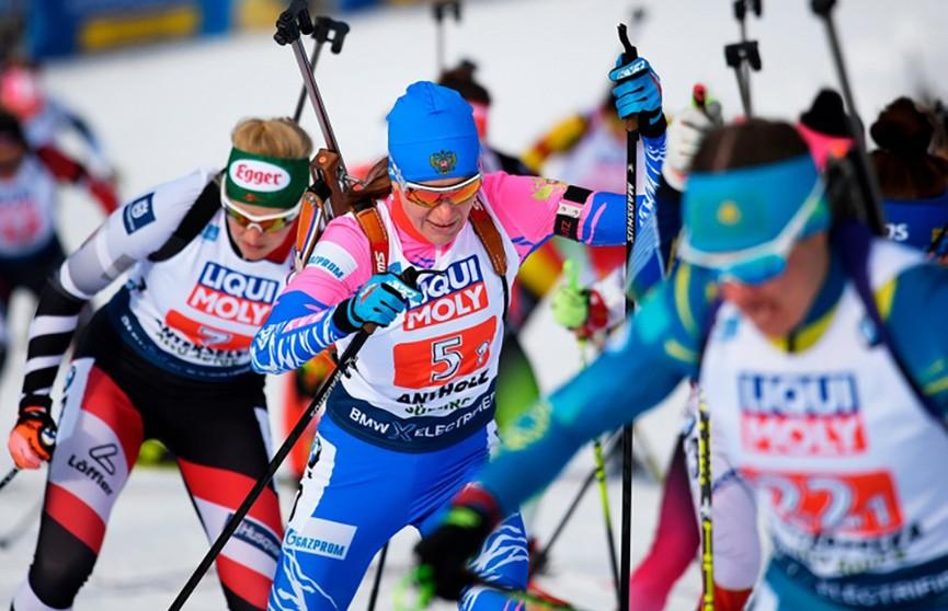 В Антхольце продолжается чемпионат мира по биатлону