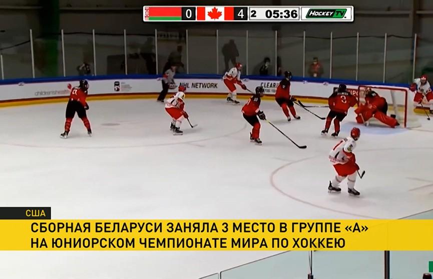 Юниорская сборная Беларуси по хоккею сыграет против сборной России