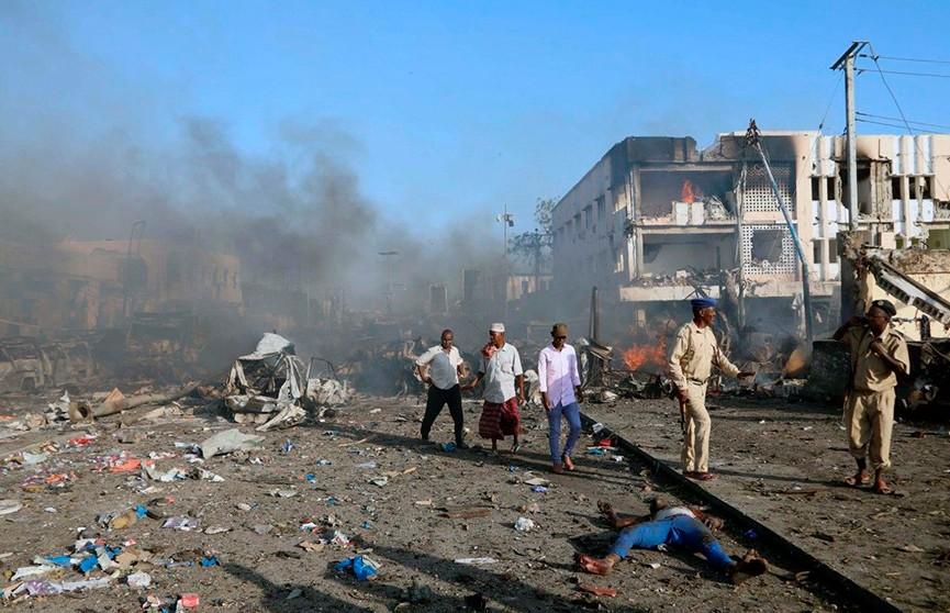 В Сомали прогремел мощный взрыв. Есть жертвы