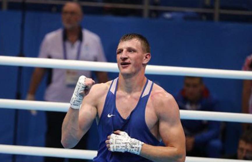 Белорусский боксёр Владислав Смягликов стал вторым на II Европейских играх