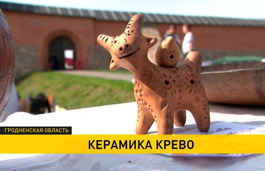 Фестиваль-ярмарка «Керамика Крево»: у стен легендарного замка на один день вырос «Город мастеров»