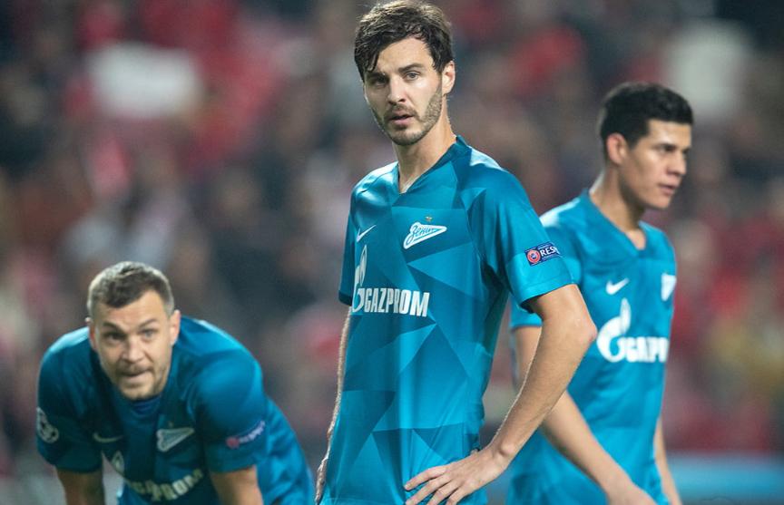 Лига чемпионов: «Зенит» разгромно проиграл «Бенфике», «Барселона» победила «Интер»
