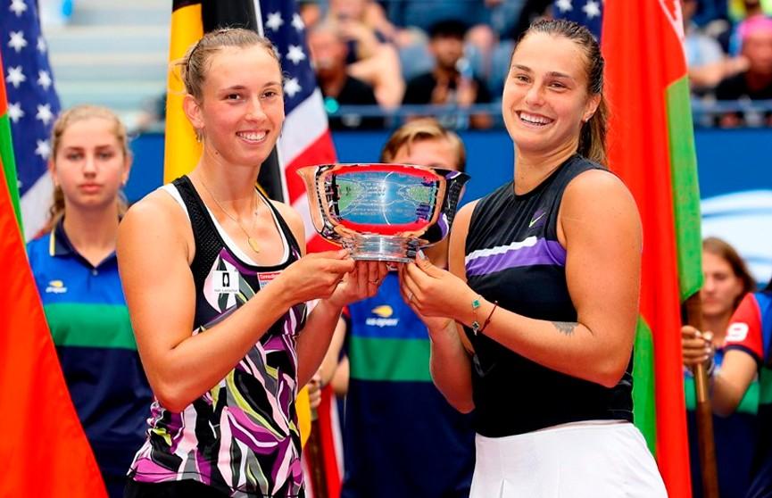 Арина Соболенко стала победительницей US Open в парном разряде