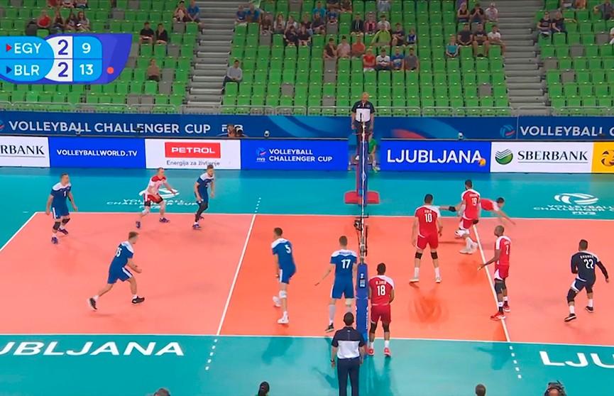 Белорусы одержали первую победу в отборочном турнире Лиги наций по волейболу