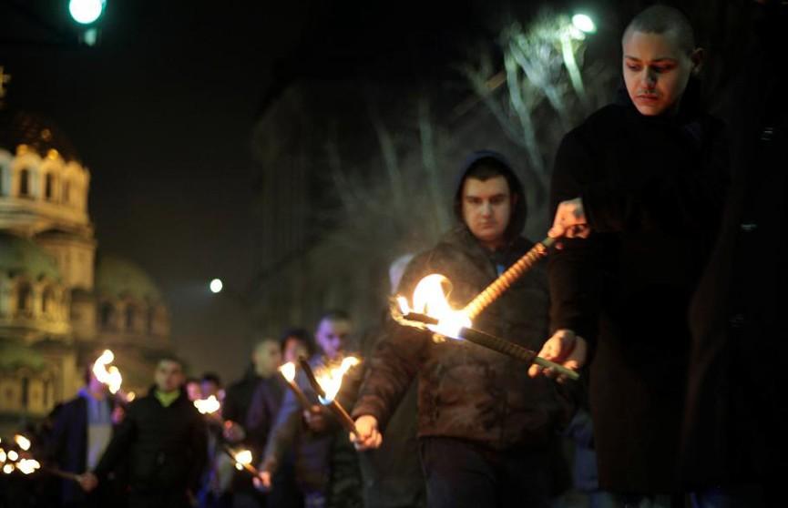 В Софии полиция не позволила неонацистам провести традиционное шествие