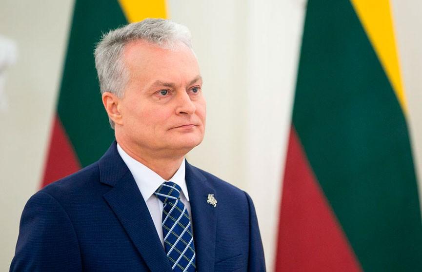 Гитанас Науседа охарактеризовал развитие политического диалога между Беларусью и Литвой