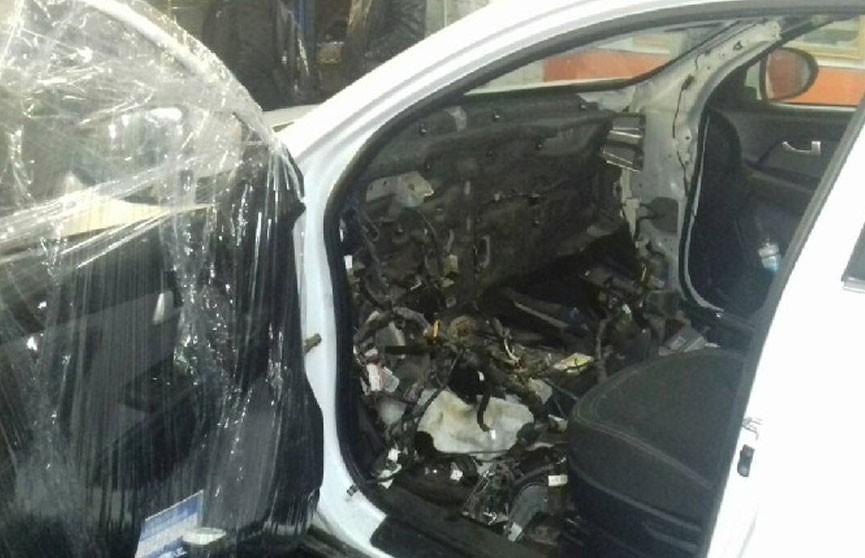 Ртуть нашли при ремонте автомобиля в Минске