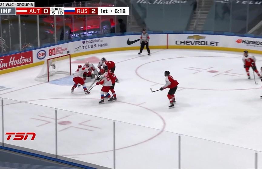 В Канаде продолжается молодёжный чемпионат мира по хоккею: сборная России вышла в четвертьфинал