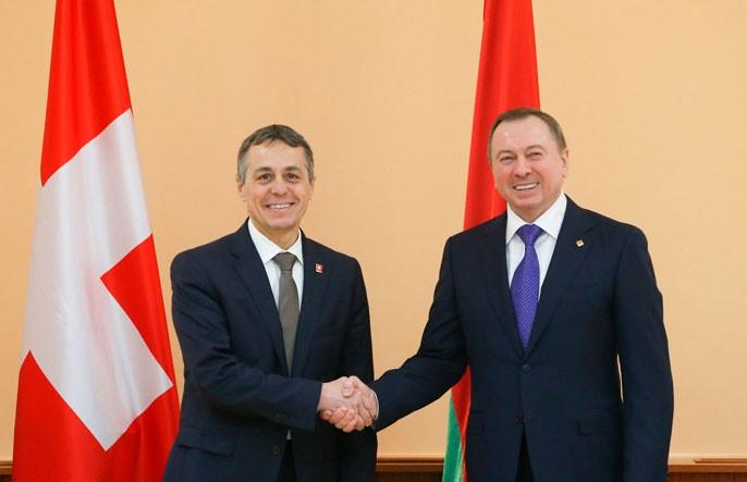 В Минске открылось посольство Швейцарии