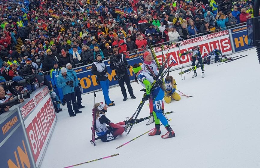 Ирина Кривко стала шестой в женском масс-старте на этапе Кубка мира по биатлону в Рупольдинге